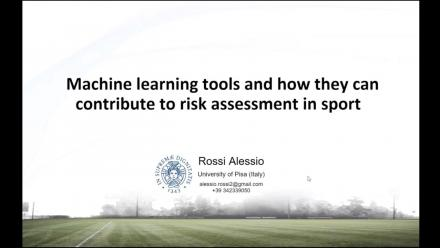 Machine learning tools and how they can contribute to risk assessment in sport