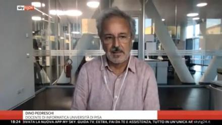 Sky TG24 - I numeri della pandemia - Dino Pedreschi (08/10/2020)