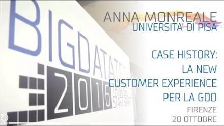 BDT 2016 - Anna Monreale - La New Customer Experience per la GDO