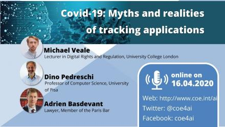 AI Breakfasts: Covid-19 - Myths and realities of tracking applications