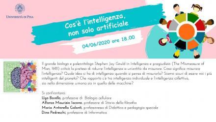 04/06/2020: Cos'è l'intelligenza, non solo artificiale